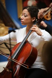 Cellist Adrienne Taylor